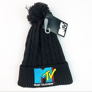 MTV Music Television Knit Beanie